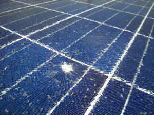 solar panels broken poligy